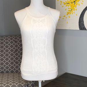 Lauren Ralph Lauren Top w/ Halter Style Neckline